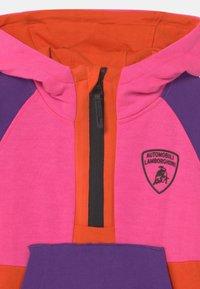 Automobili Lamborghini Kidswear - MULTICOLOR HALF ZIP - Sweatshirt - pink johor - 2