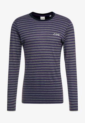 JCOTAYLER TEE CREW NECK - Long sleeved top - purple velvet