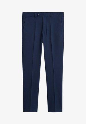 JANEIRO - Suit trousers - bleu de prusse