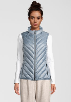 SOLARBALL - Waistcoat - metallic blue