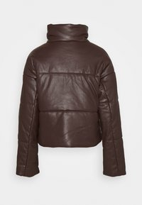 NA-KD - PADDED JACKET - Winter jacket - brown - 1