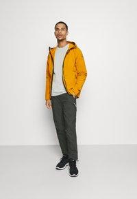 adidas Performance - Soft shell jacket - gold - 1