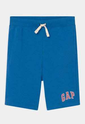 BOY LOGO  - Tracksuit bottoms - blue burst