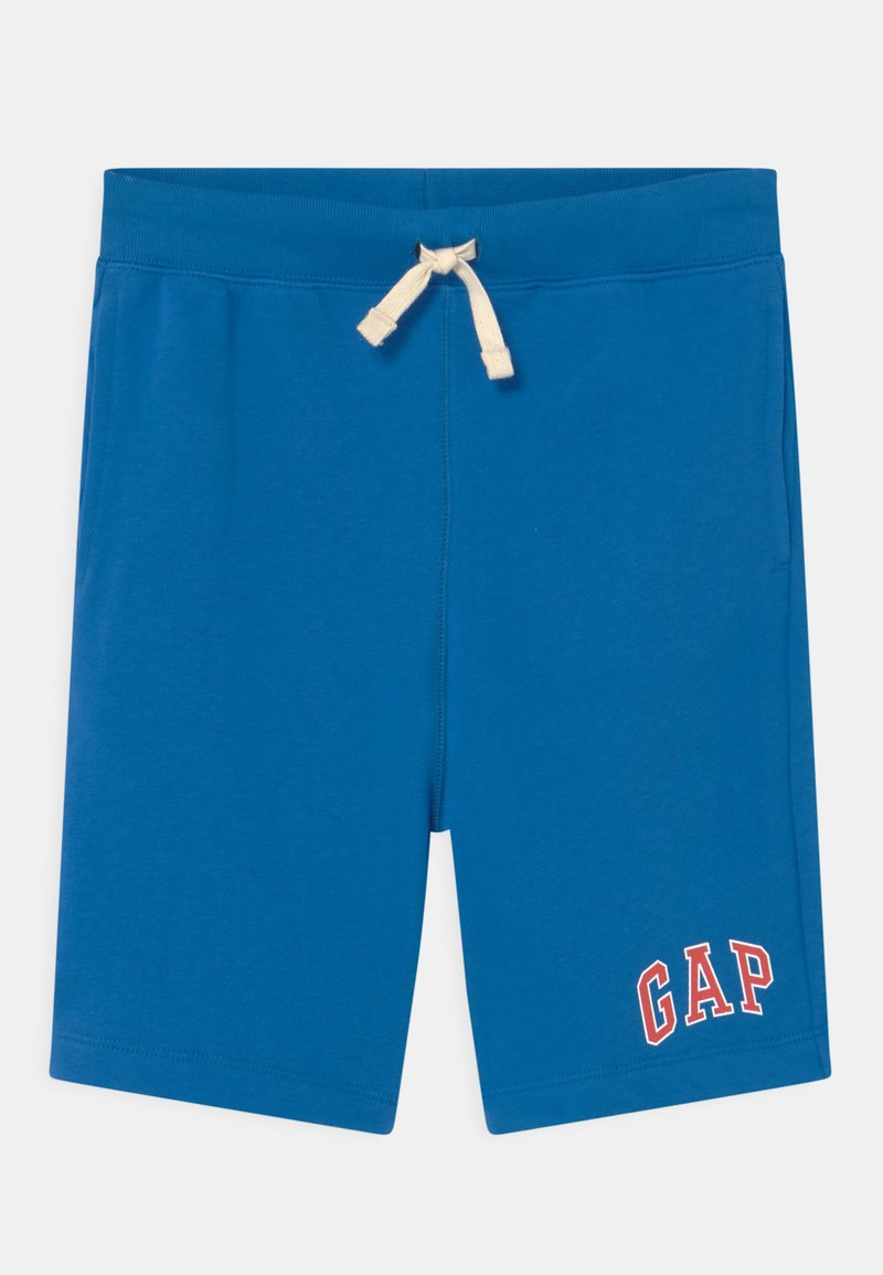 GAP - BOY LOGO  - Tracksuit bottoms - blue burst