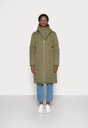 STEAL COAT - Winter coat - dark olive