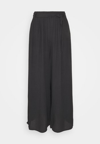 PANTS WITH BELT - Trousers - phantom