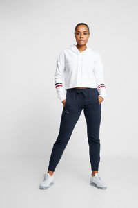 Kappa - TAIMA PANTS WOMEN - Pantalon de survêtement - dress blues - 1
