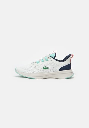 RUN SPIN - Trainers - off white/light blue