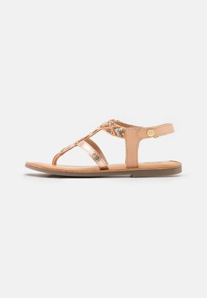 FERN - T-bar sandals - nude
