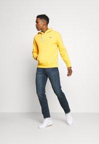 Levi's® - 502™ REGULAR TAPER - Jeans Tapered Fit - dark indigo/worn in - 1