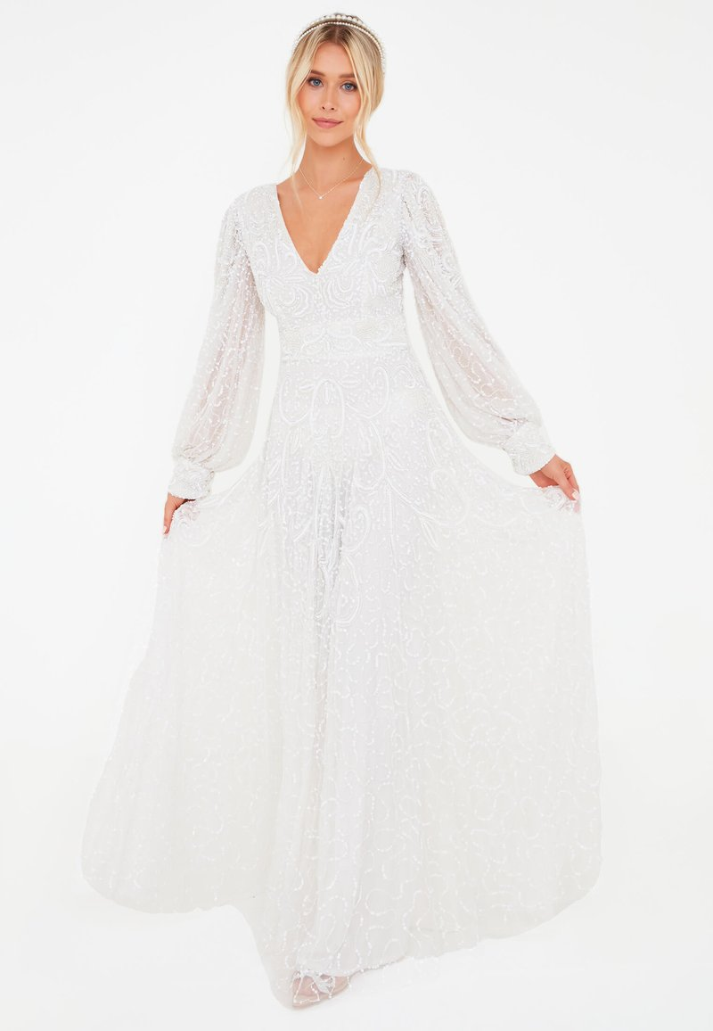BEAUUT - STEPH EMBELLISHED SEQUINS  - Occasion wear - ivory