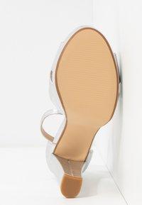 Anna Field - Sandaler med høye hæler - silver - 6