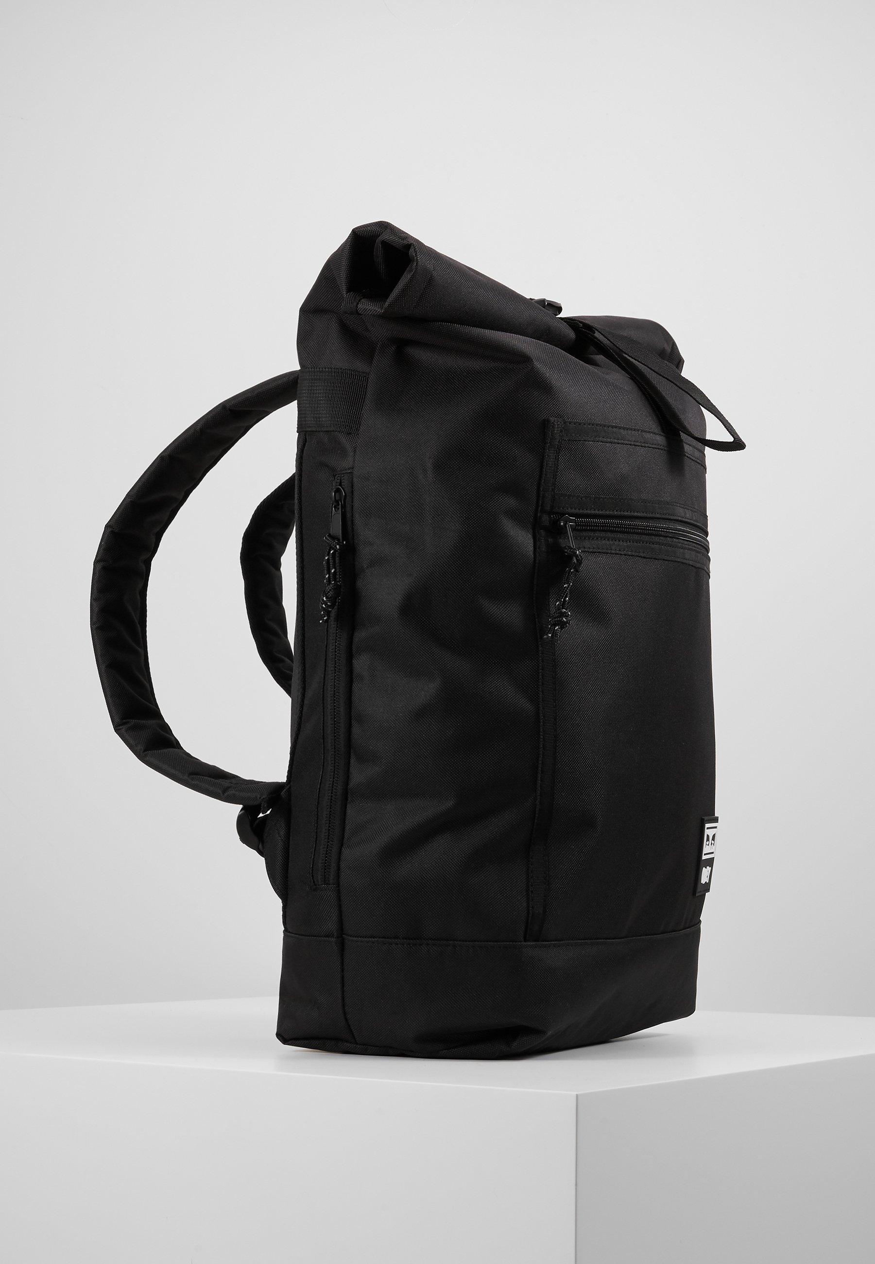 Obey Clothing CONDITIONS ROLL TOP BAG - Tagesrucksack - black/schwarz - Herrentaschen Rjh8f