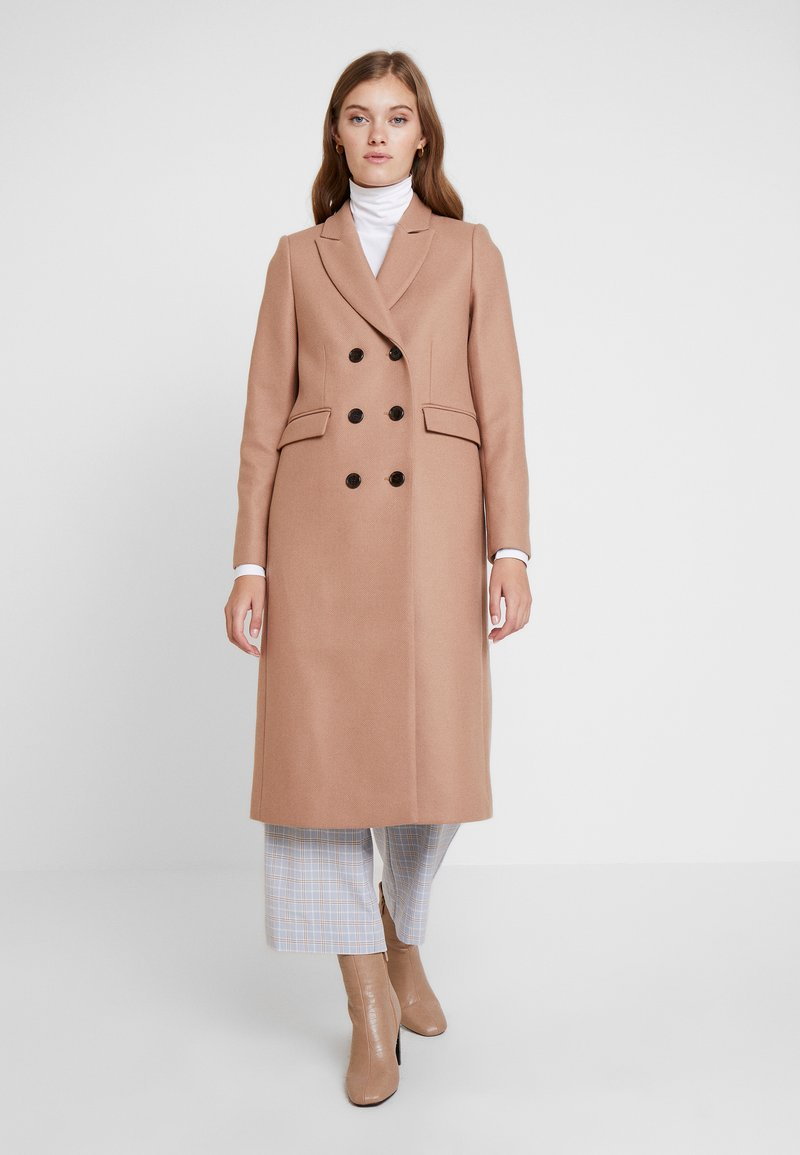IVY & OAK - CLASSIC DOUBLE BREASTED COAT - Mantel - winter camel
