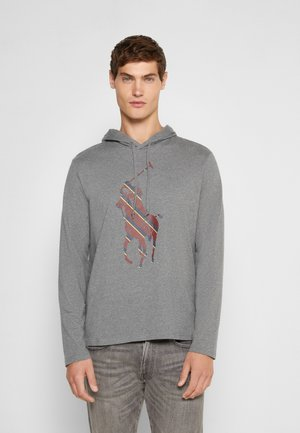 Langarmshirt - medium flannel heather