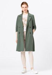 HALLHUBER - Classic coat - seegrün - 0