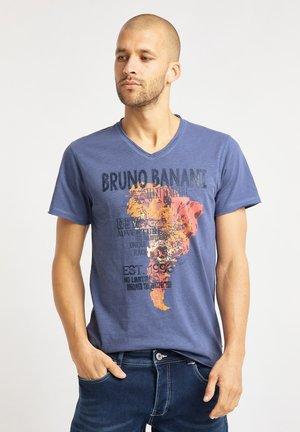 T-shirt imprimé - denim blue