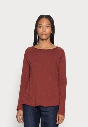 HEAVY LONGSLEEVE - Long sleeved top - rubin red