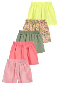 Next - PINK 5 PACK PRETTY SHORTS (3MTHS-7YRS) - Shorts - pink - 0
