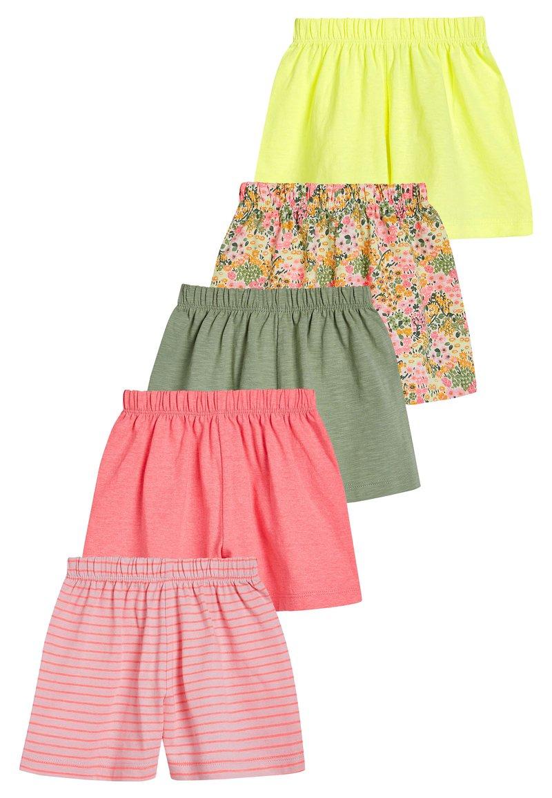 Next - PINK 5 PACK PRETTY SHORTS (3MTHS-7YRS) - Shorts - pink