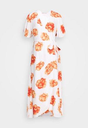 FRENCHIE MIDI DRESS - Denní šaty - white
