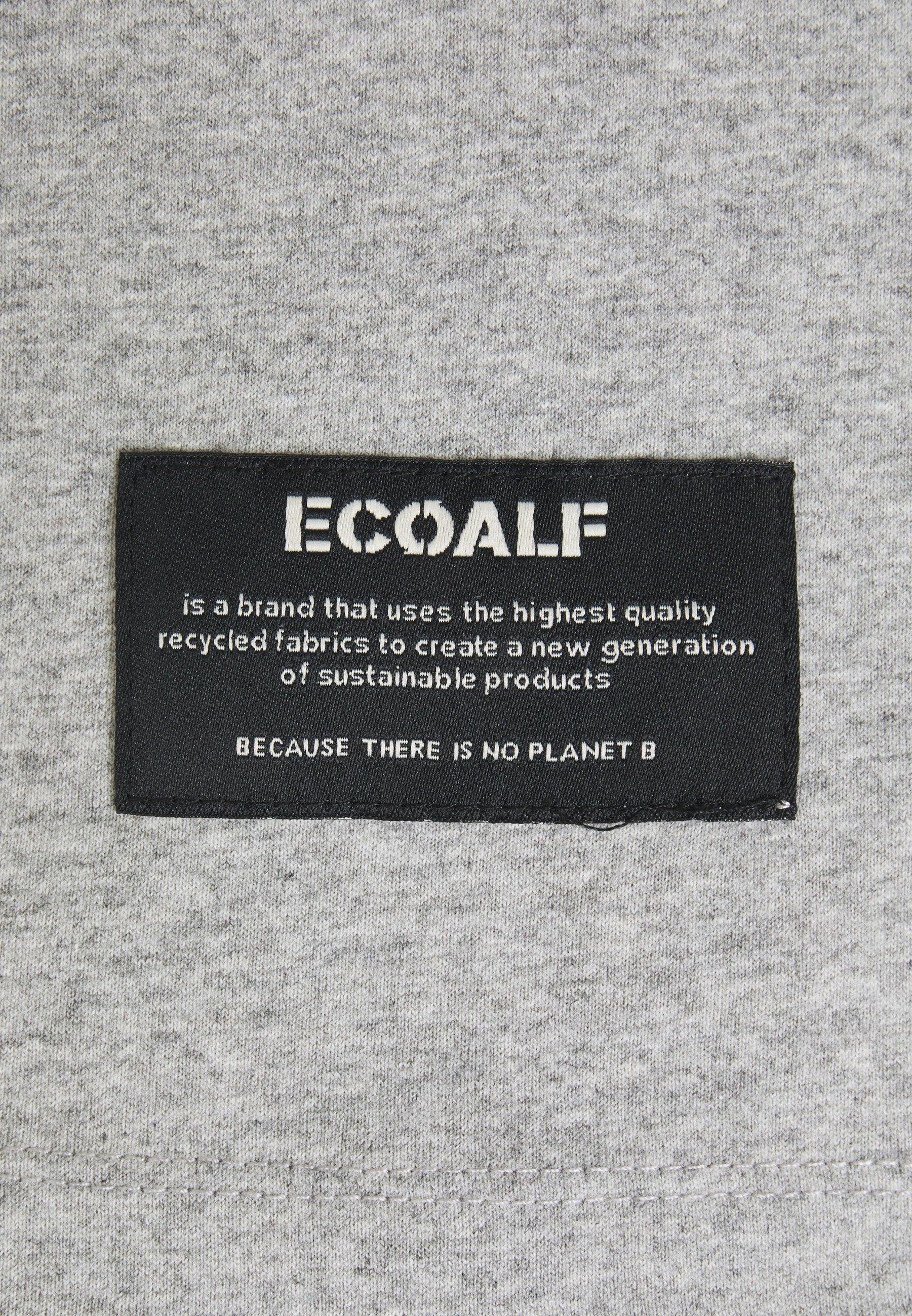 Ecoalf TADEO MAN - Print T-shirt - grey melange g7Xfo