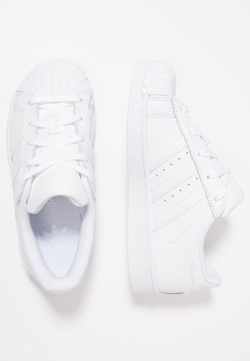 adidas Originals - SUPERSTAR FOUNDATION - Trainers - footwear white