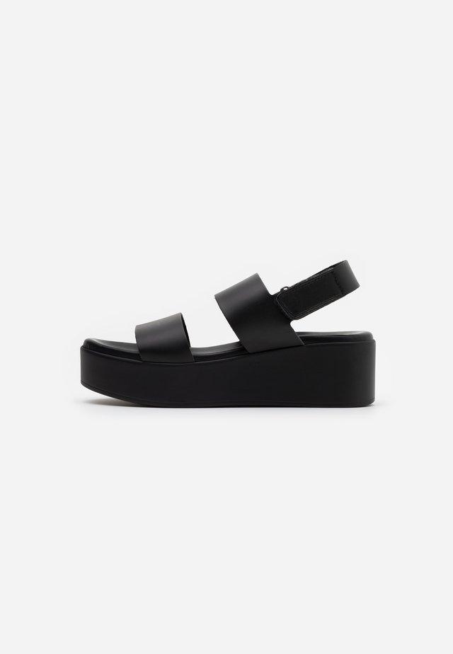 RACHEL  - Sandalias con plataforma - black