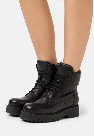 CHICAGO - Platform ankle boots - noir