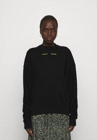 Proenza Schouler White Label - MODIFIED RAGLAN SOLID - Sweatshirt - black - 0