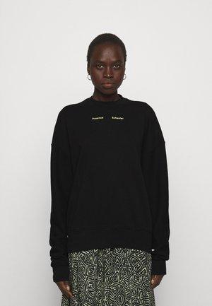 MODIFIED RAGLAN SOLID - Sweatshirt - black