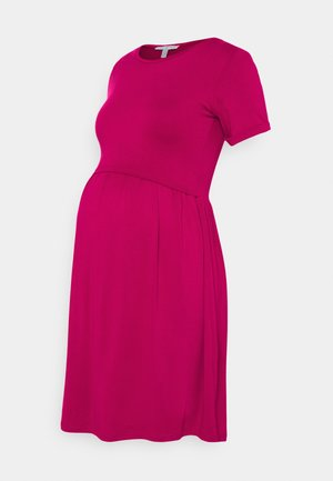 LIMBO - Jersey dress - raspberry