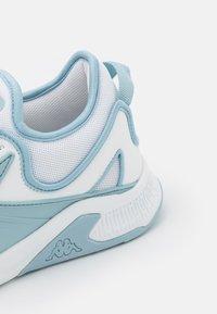 Kappa - GASIRA - Scarpe da fitness - white/ice - 5
