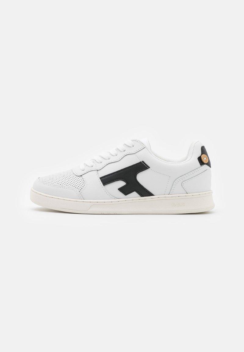 Faguo - HAZEL UNISEX - Sneakersy niskie - white/black