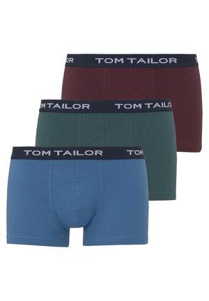 PANTS 3 PACK - Pants - red-dark-uni