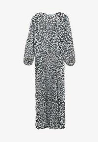 Violeta by Mango - CHERRY - Day dress - black - 4