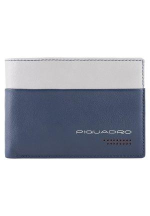 URBAN GELDBÖRSE RFID LEDER 13 CM - Wallet - blue-grey