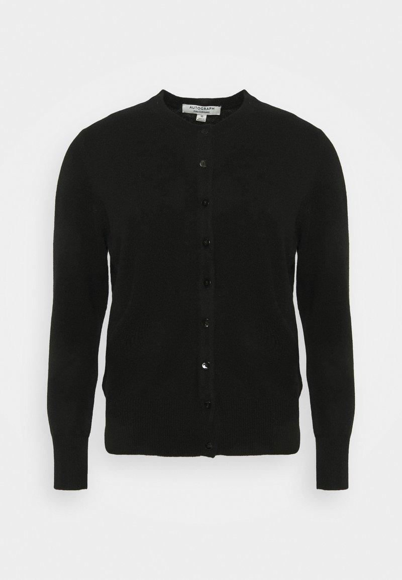 Marks & Spencer London - CREW - Kardigan - black
