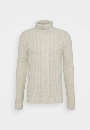 JJKIM ROLL NECK - Pullover - cloud dancer