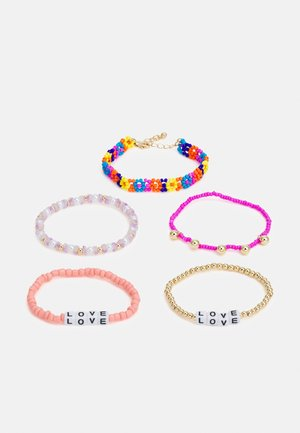 FGTHEA 5-PACK BRACELET  - Armband - gold colour/multi