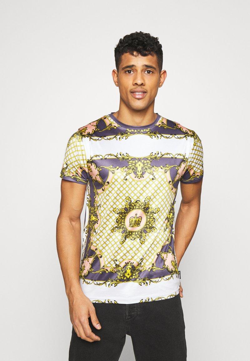 D-STRUCT - ALBERT - T-shirts print - ecru
