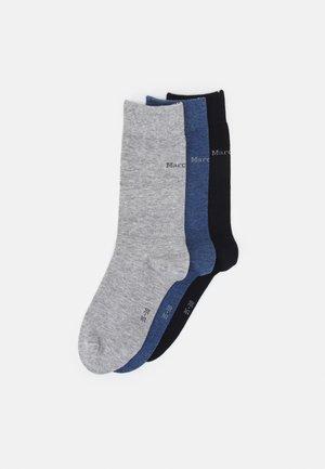 SOCKS 3 PACK - Ponožky - navy