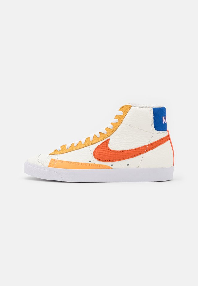 BLAZER MID '77  - Sneakersy wysokie - sail/campfire orange/white/citron pulse
