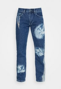Jaded London - SPIRAL TIE DYE BOOTCUT - Straight leg jeans - blue - 3