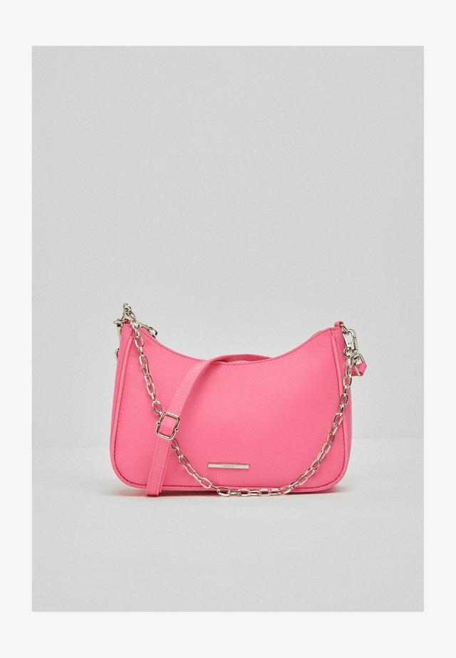 Handtas - neon pink
