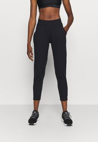 Under Armour - MERIDIAN JOGGERS - Træningsbukser - black - 0
