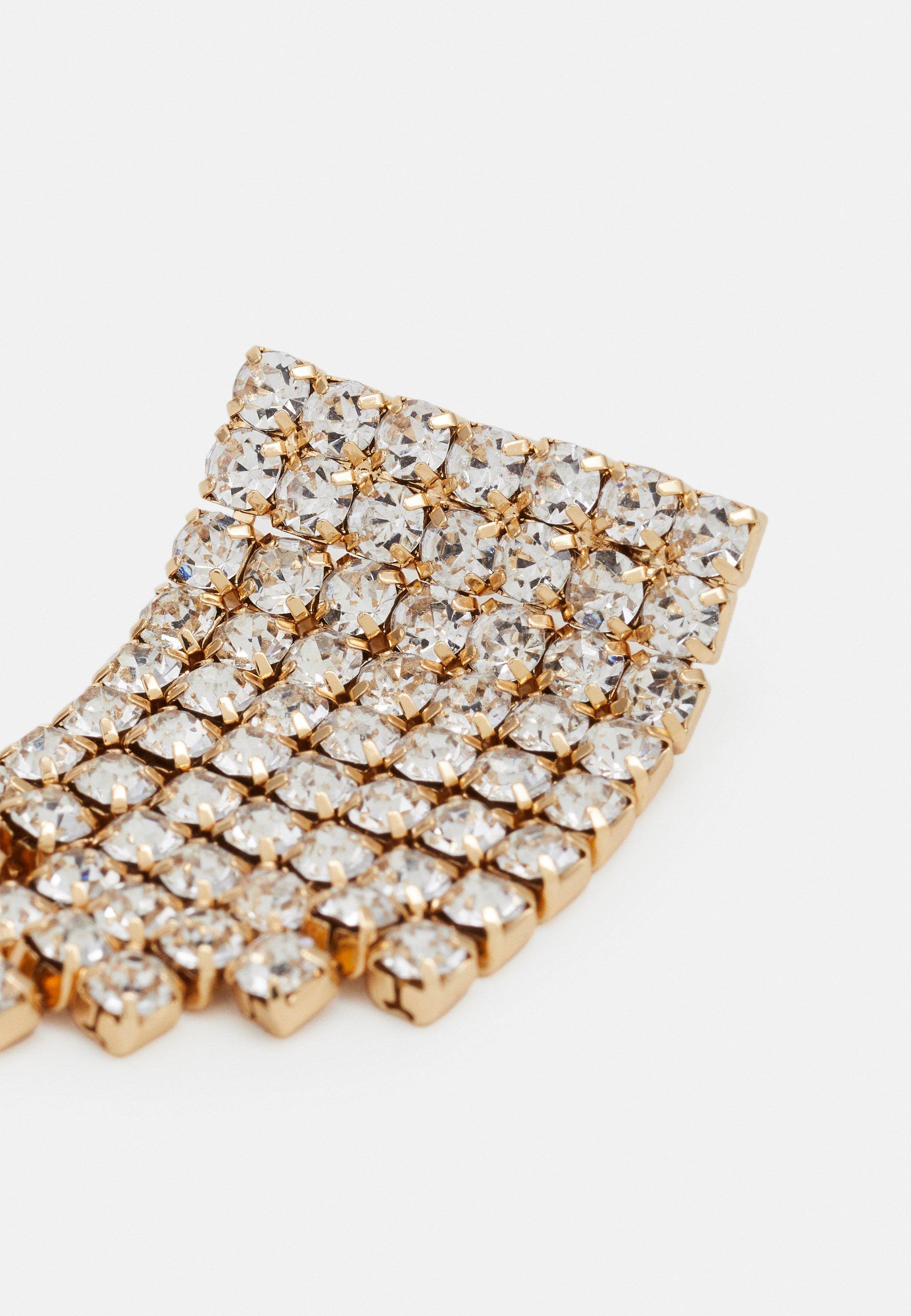Pieces PCMACKENZIE EARRINGS - Øredobber - gold-coloured/clear/flerfarget eagmz77fwwjyUDE
