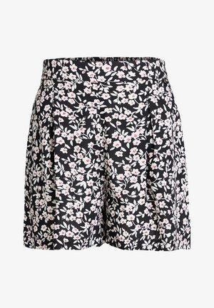 MET STREEPDESSIN - Shorts - dark grey