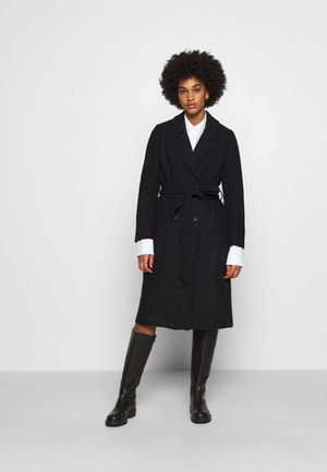 LOUISE COAT - Kappa / rock - black