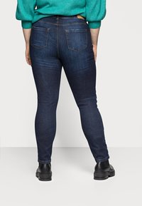 ONLY Carmakoma - CARFONA LIFE - Jeans Skinny Fit - dark blue denim - 2